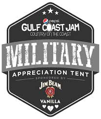 Military Appreciation Tent returning for 2018 Gulf Coast Jam